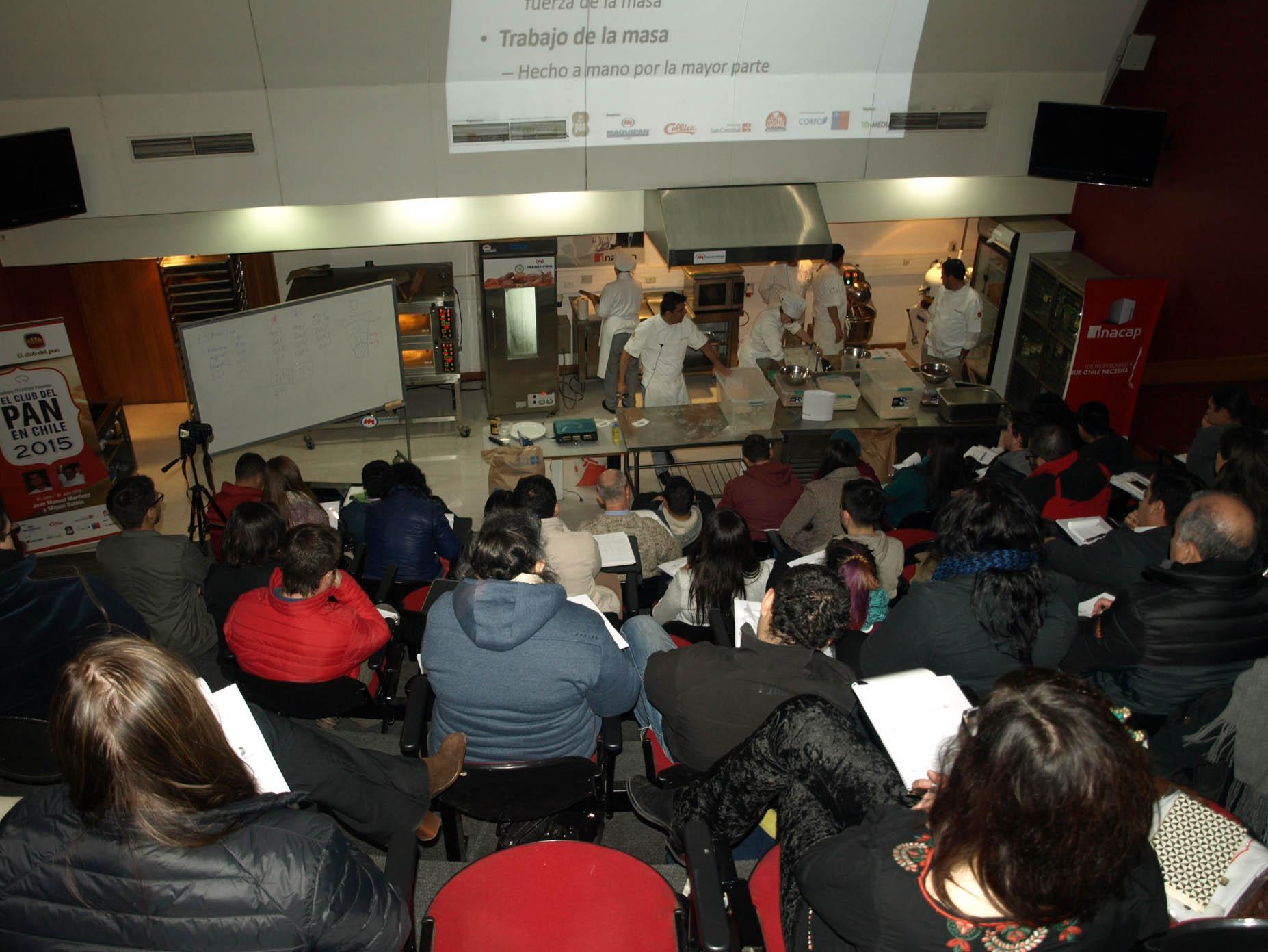 Exitoso seminario de academia Fechipan