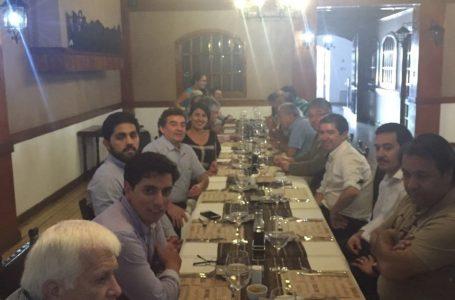 Reunión directivos de FECHIPAN en centro Vasco Santiago de Chile.