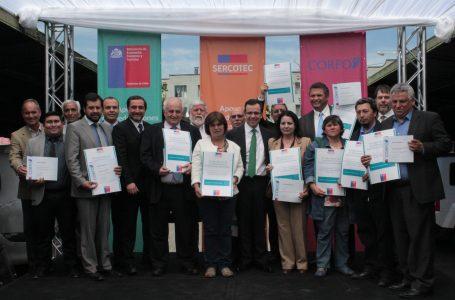 Premiación de los proyectos que adjudicaron fondos de SERCOTEC para fortalecimiento gremial.